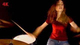 Bat Out of Hell (Meat Loaf); drum cover by Sina