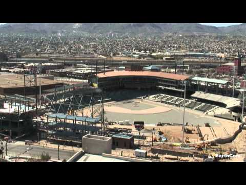 City of El Paso Triple-A Ballpark Time-Lapse