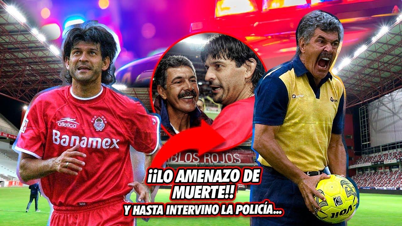 La TERRORÍFICA HISTORIA del Tuca Ferreti y José Cardozo en Toluca: AMENAZAS, DINERO Y CONFLICTO