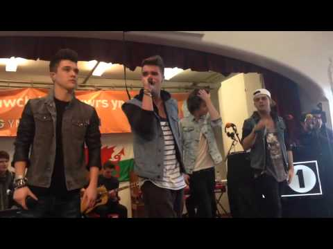 Union J perform Carry You live in Bangor using Vyclone