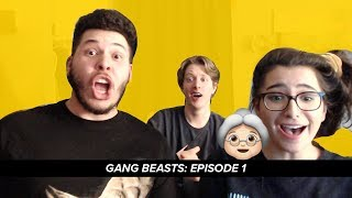 """GANG BEASTS EP: 1 BATTLE OF THE GRANNY""""S!! (Gang beasts)(PS4)"""