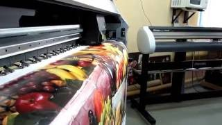 видео печать на банере в московской области