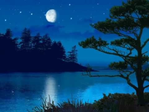 Free Animated Fall Wallpaper 3d Moonlight Lake Screensaver Youtube