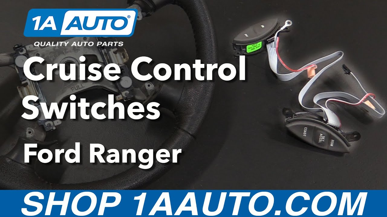 how to replace steering wheel mounted cruise control switches 98 03 ford ranger [ 1280 x 720 Pixel ]