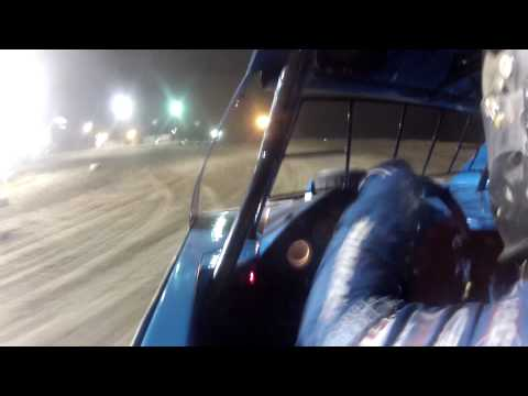 Mike McKinney l Kankakee County Speedway l UMP Modified A-Main l 7.3.15