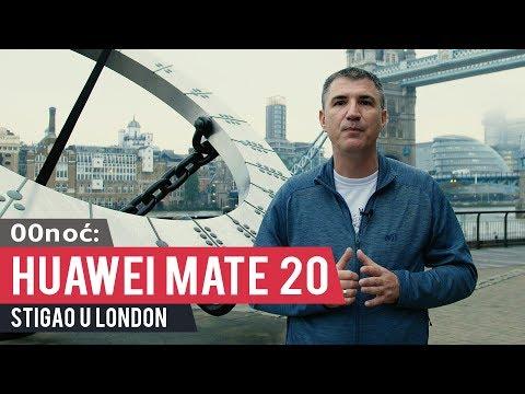 00noć:  Huawei Mate 20 stigao u London