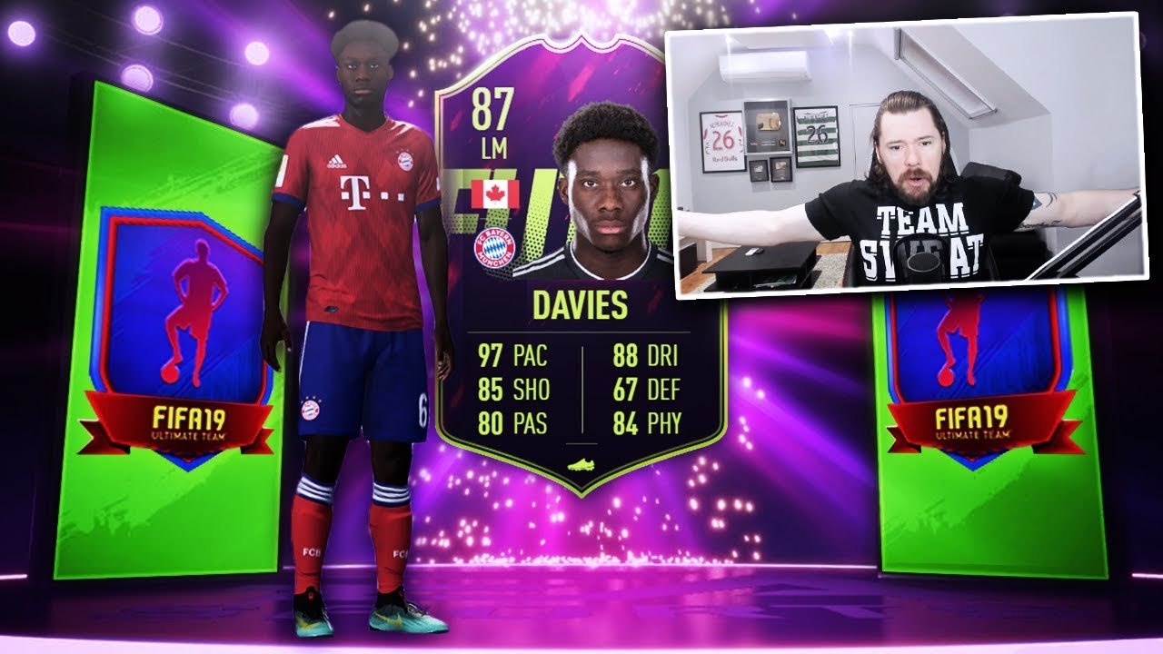 AMAZING CARD! 87 RATED FUTURE STARS ALPHONSO DAVIES SBC! - FIFA 19 Ultimate Team