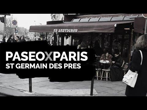 Paris, Turismo caminando de ST germain des prés al Bon Marché