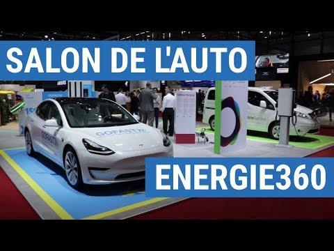 ENERGIE360, GOFAST Et EVTEC Au Salon De L'auto De Genève
