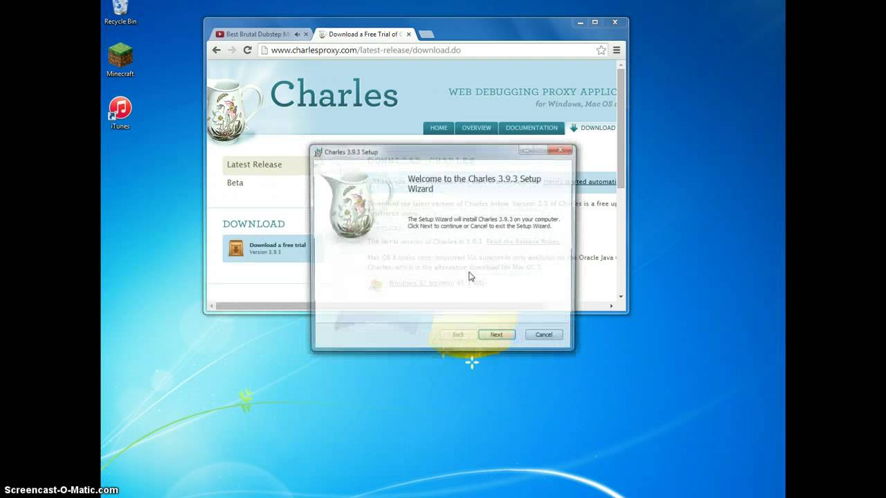 How to download- Charles Proxy - YouTube