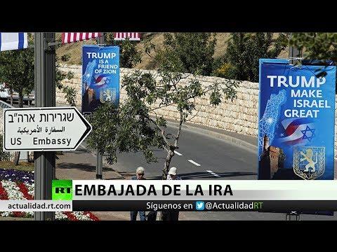EE.UU. traslada su embajada en Israel a Jerusalén