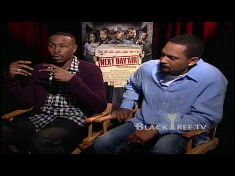Wood Harris and Mike Epps talk NEXT DAY AIR