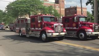 Apartment Fire - UpTown Toledo (June 13, 2017)