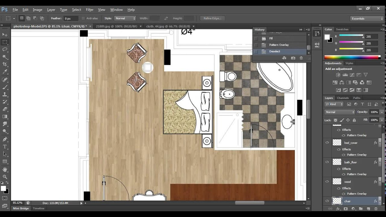 basic photoshop for interior design   YouTube basic photoshop for interior design