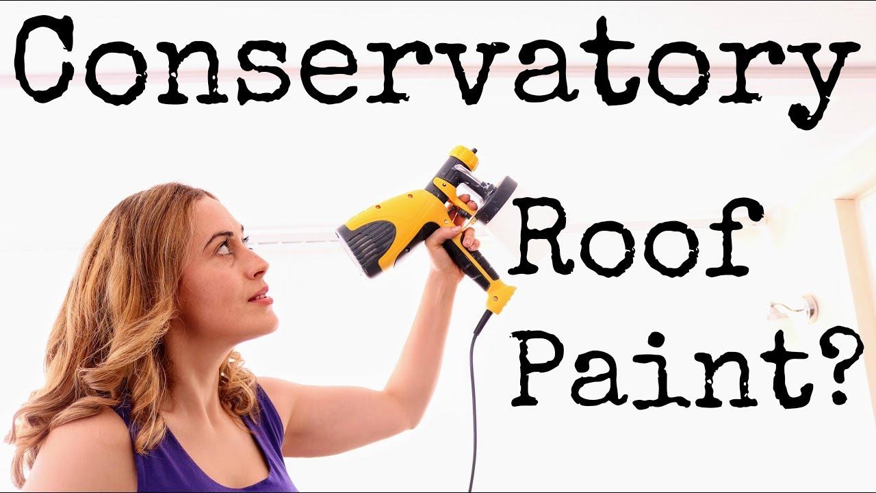 Solar Reflective Paint: Conservatory Roof Blind Alternative?