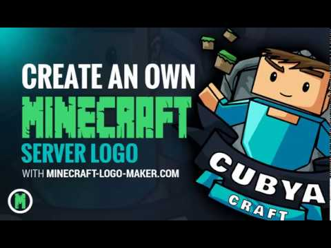 How to design an own Minecraft Logo for your Minecraft Server