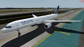 [P3D 4.1] Captain Sim Boeing 757-200 take off from KLAX