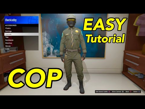 How To SAVE POLICE OUTFIT Casino Heist DLC GTA 5 Online