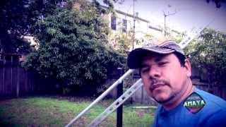 Grua para Video Camara  Primera Prueba  ( Amaya Record )