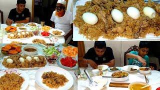 Bengali Vlog # বাংলাদেশি স্টাইলে ইফতার টেবিল সাজাই/সবাই মিলে ইফতার খাই/Iftar Table Ramadan Blog.