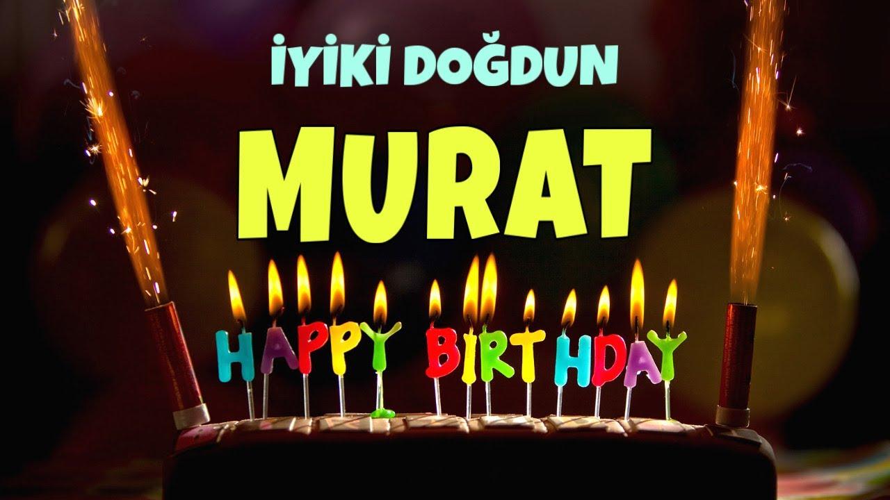 İyi ki doğdun MURAT - İsimli Doğum Günü Şarkıları