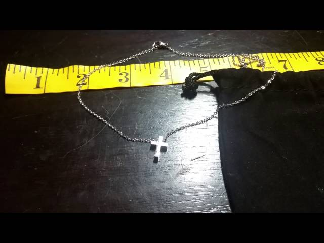 Small Cross Necklace for women or kids
