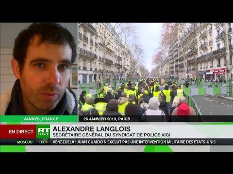 Alexandre Langlois : «Ça continue sur la désorganisation au niveau des forces de l'ordre»