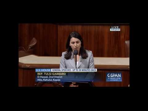 Rep. Tulsi Gabbard Urges Congress to Pass Relief for Survivors of Human Trafficking