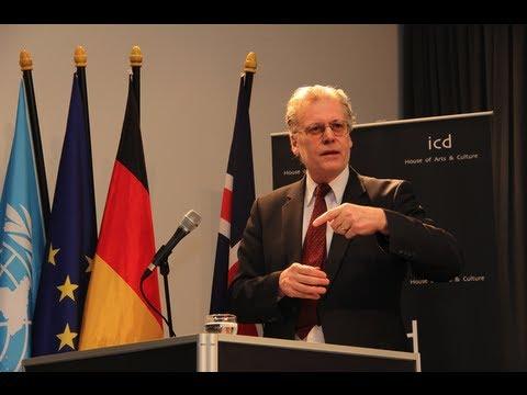 Ögmundur Jónasson, Min. of the Interior of Iceland, Former Min. of Justice & Human Rights