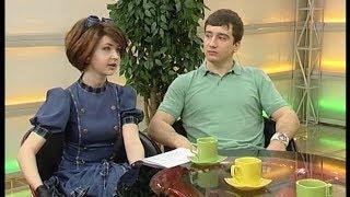 Елена Анохина и Никита Слесаренко