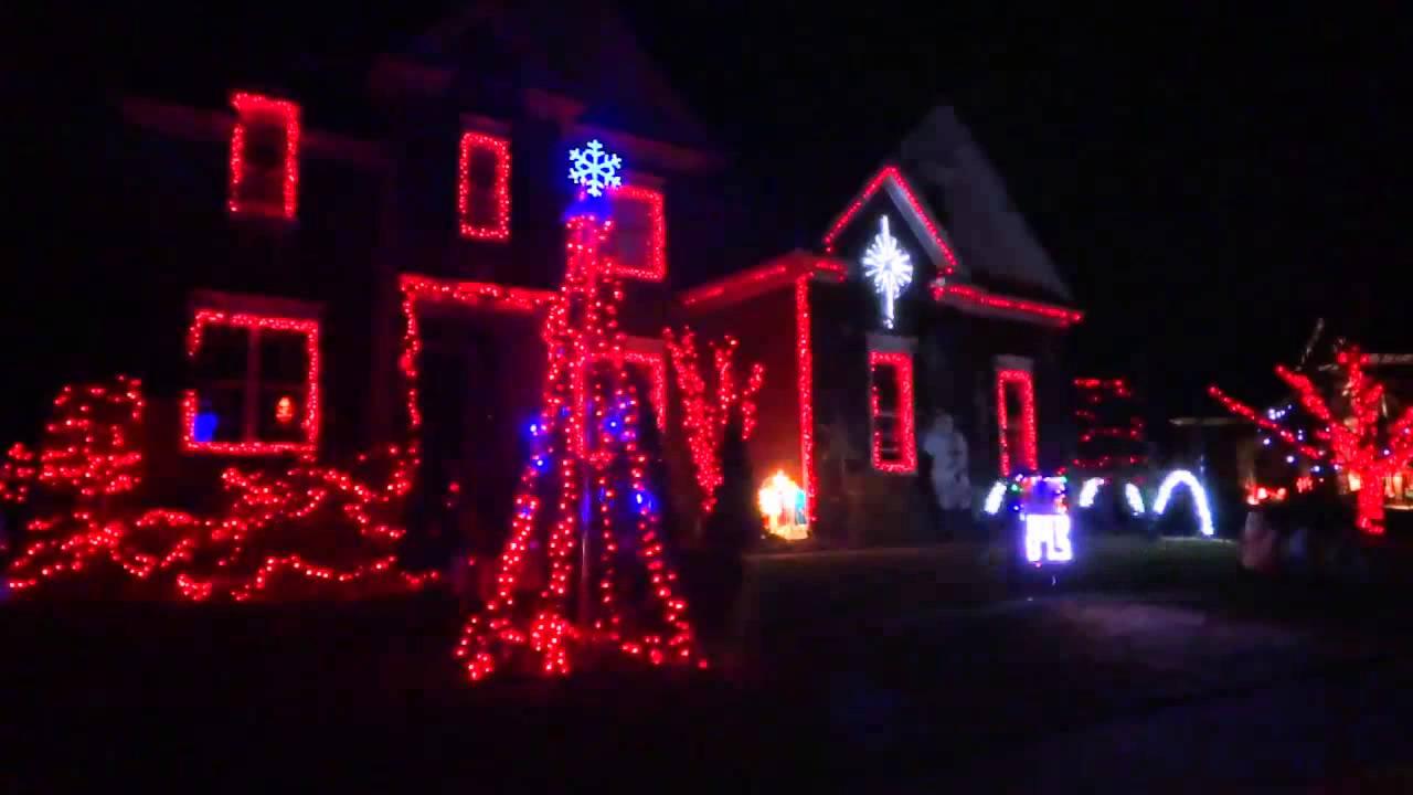 Happy Birthday Jesus! A Display of 2013 Christmas Lights - YouTube