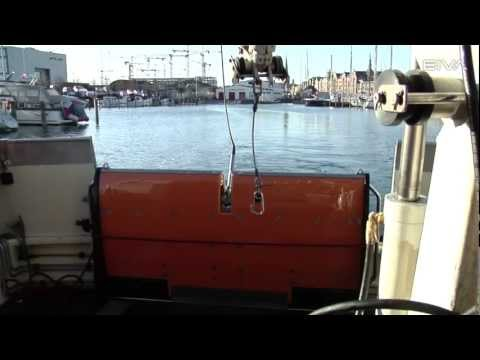 EIVA ScanFish III - Handling at port prior to survey