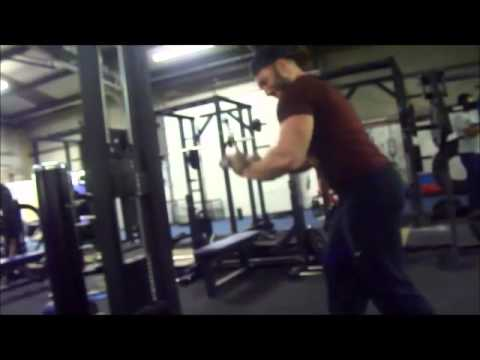 brutal superset arm workout at muscle  strength gym  arm