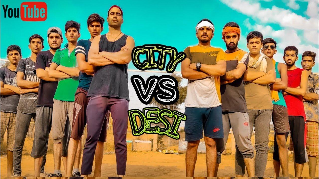 DESI VS CITY BOYS VOLLYBALL MATCH    PANDU GANG