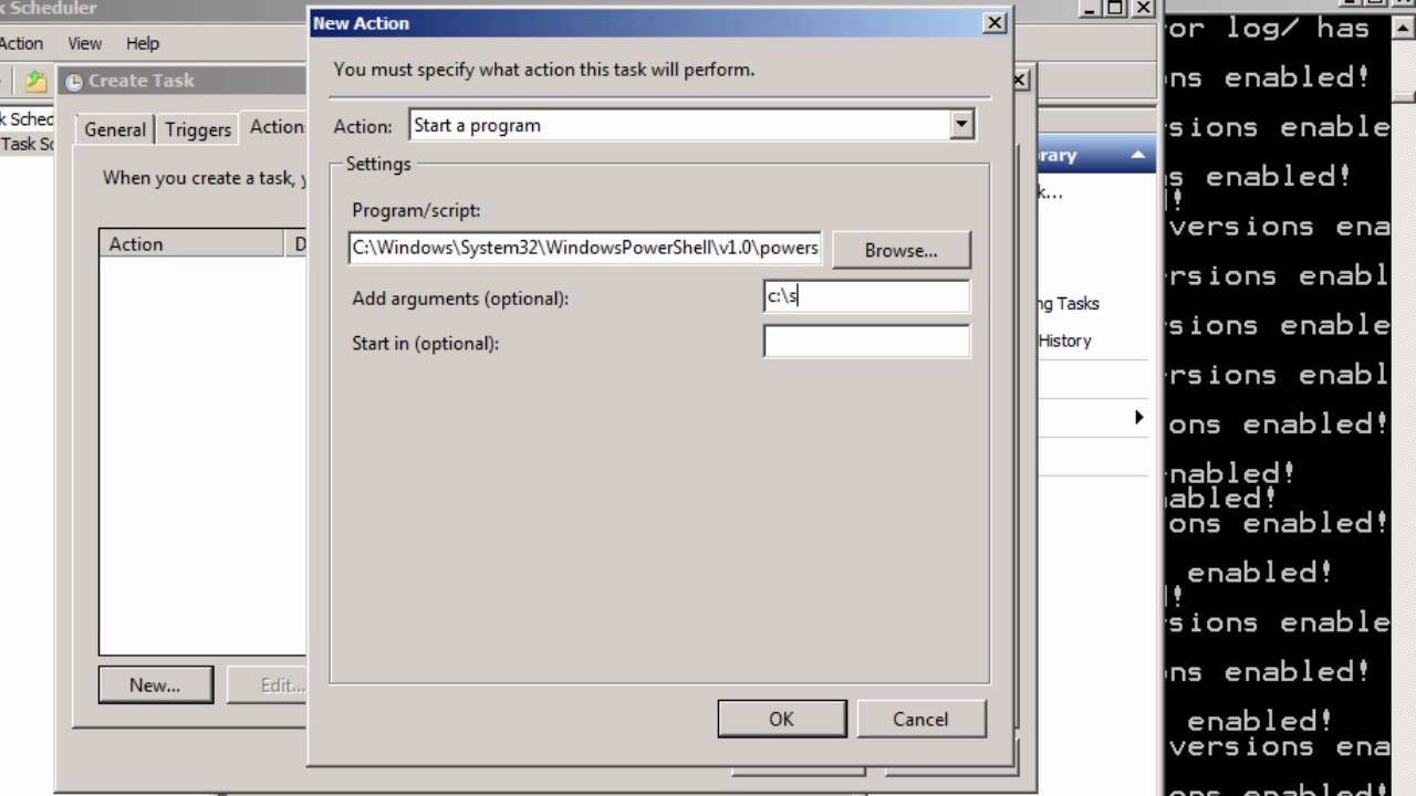 Scheduling a PowerShell Script using Windows Task Scheduler by Jack Fruh  @sharepointjack