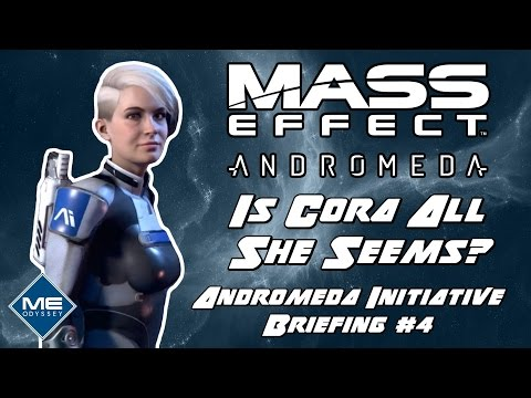 Is Cora Related To The Illusive Man? - Mass Effect Andromeda Character Briefing!