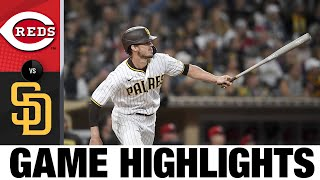 Reds vs. Padres Game Highlights (6/18/21) | MLB Highlights