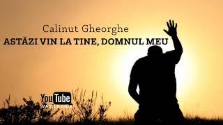 Calinut Gheorghe - ASTAZI VIN LA TINE, DOMNUL MEU LIVE