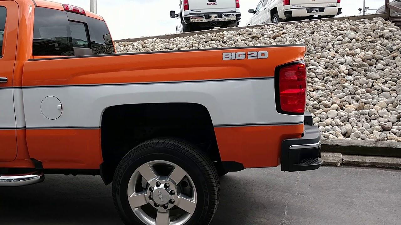2018 Cheyenne Super 20 Silverado Duramax