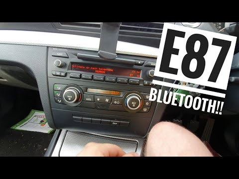 How To *BLUETOOTH CONNECT* Your Phone! BMW 1 Series E87