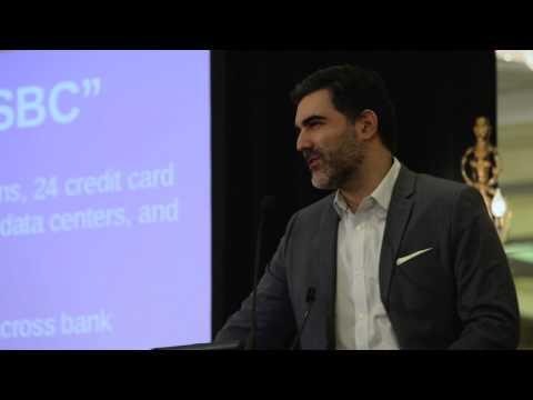 Keynote: Blockchain Banking by Houman Shadab - London 2015