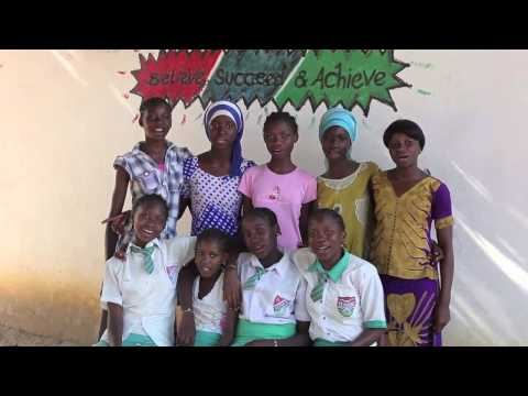 STF Scholars in The Gambia Sing The Starfish Anthem