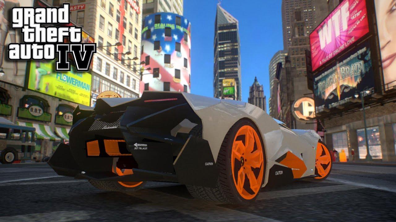 GTA IV   MOD / Lamborghini Egoista   YouTube