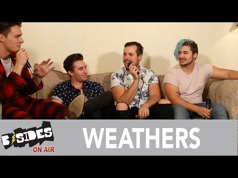 """B-Sides On-Air: Interview - Weathers Talk """"Happy Pills"""", Formation"""