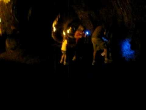 Inside Thurston Lava Tube July 2009