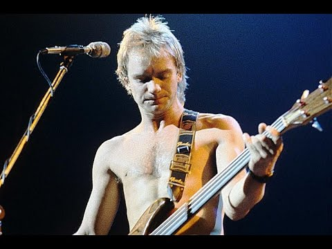 Easy Bass Lesson! Walking On The Moon - The Police