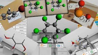 Dünyanın ilk AVR kimya uygulaması: ''AR VR Molekülleri Editör ''
