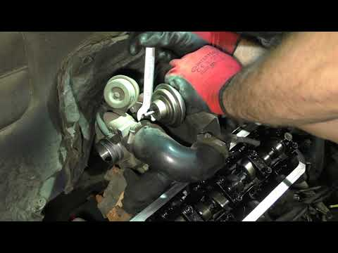VW T4 1,9 TD кап.ремонт,VW 1.9 TD Engine Repair