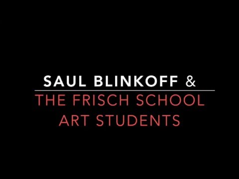 Saul Blinkoff Speaks to the Frisch School Art Classes, grades 9-12
