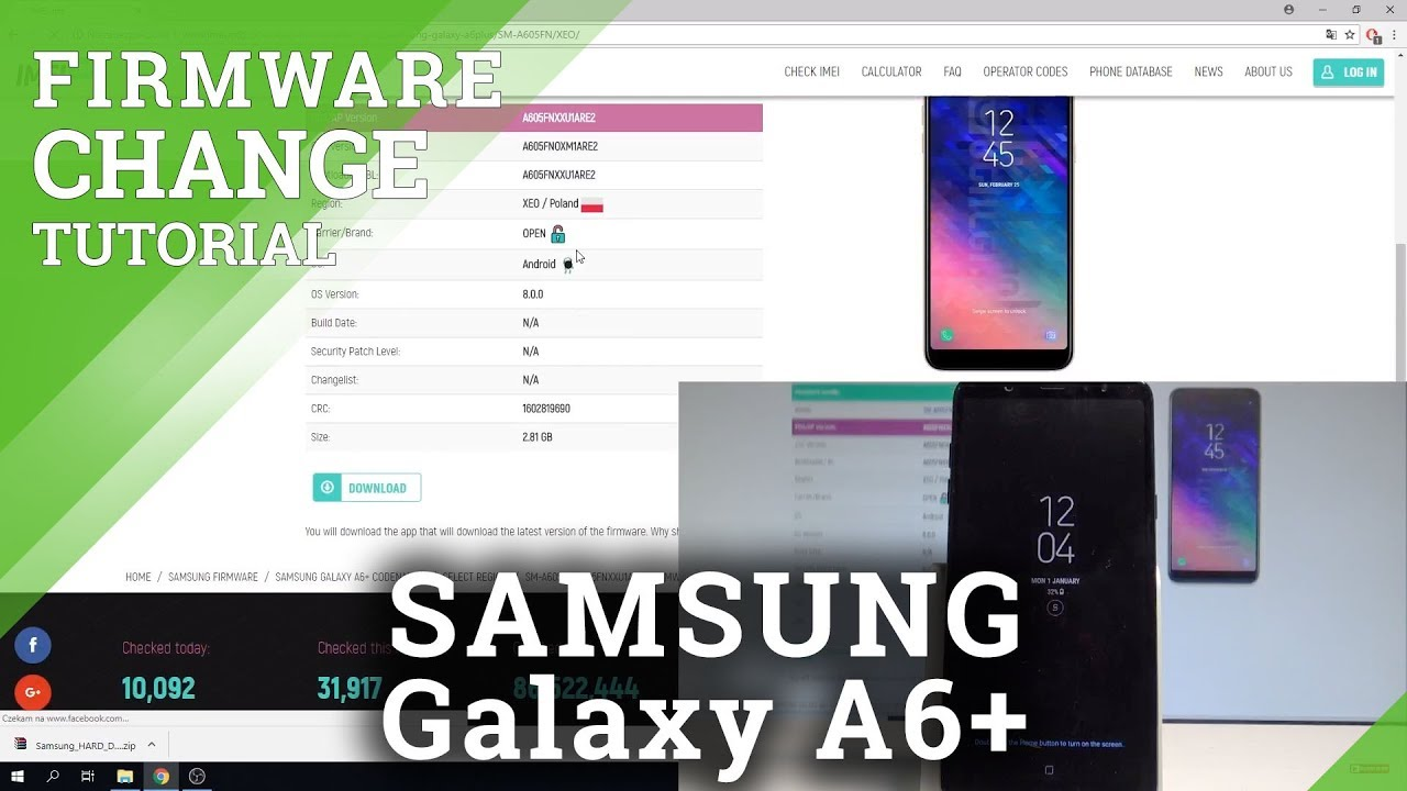 How to Change / Update Firmware in SAMSUNG Galaxy Note 9